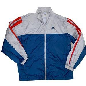 Adidas Windbreaker jacket size Large
